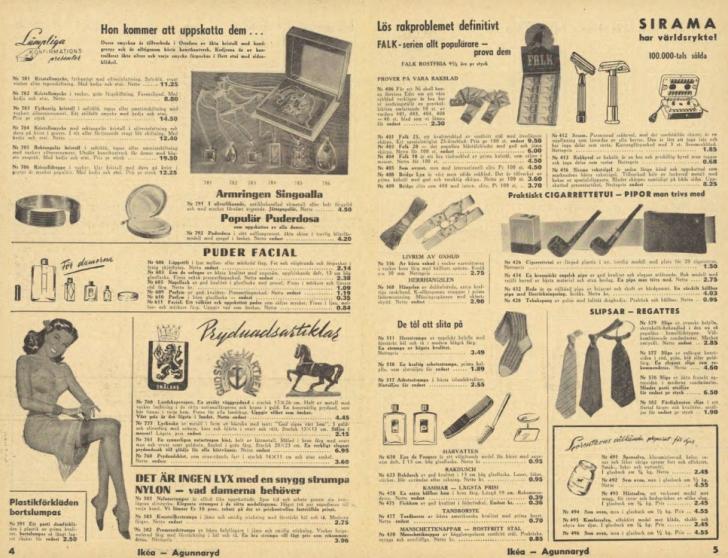 1950 ikea catalog double page