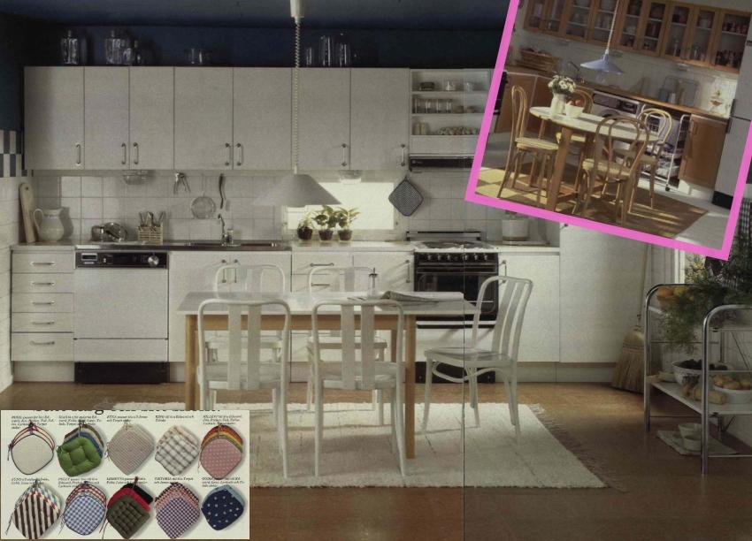 1980 IKEA catalog kitchen goods