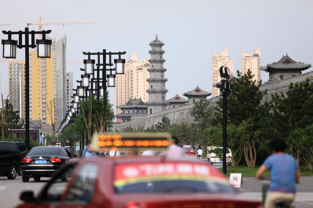 Datong shanxi city traffic