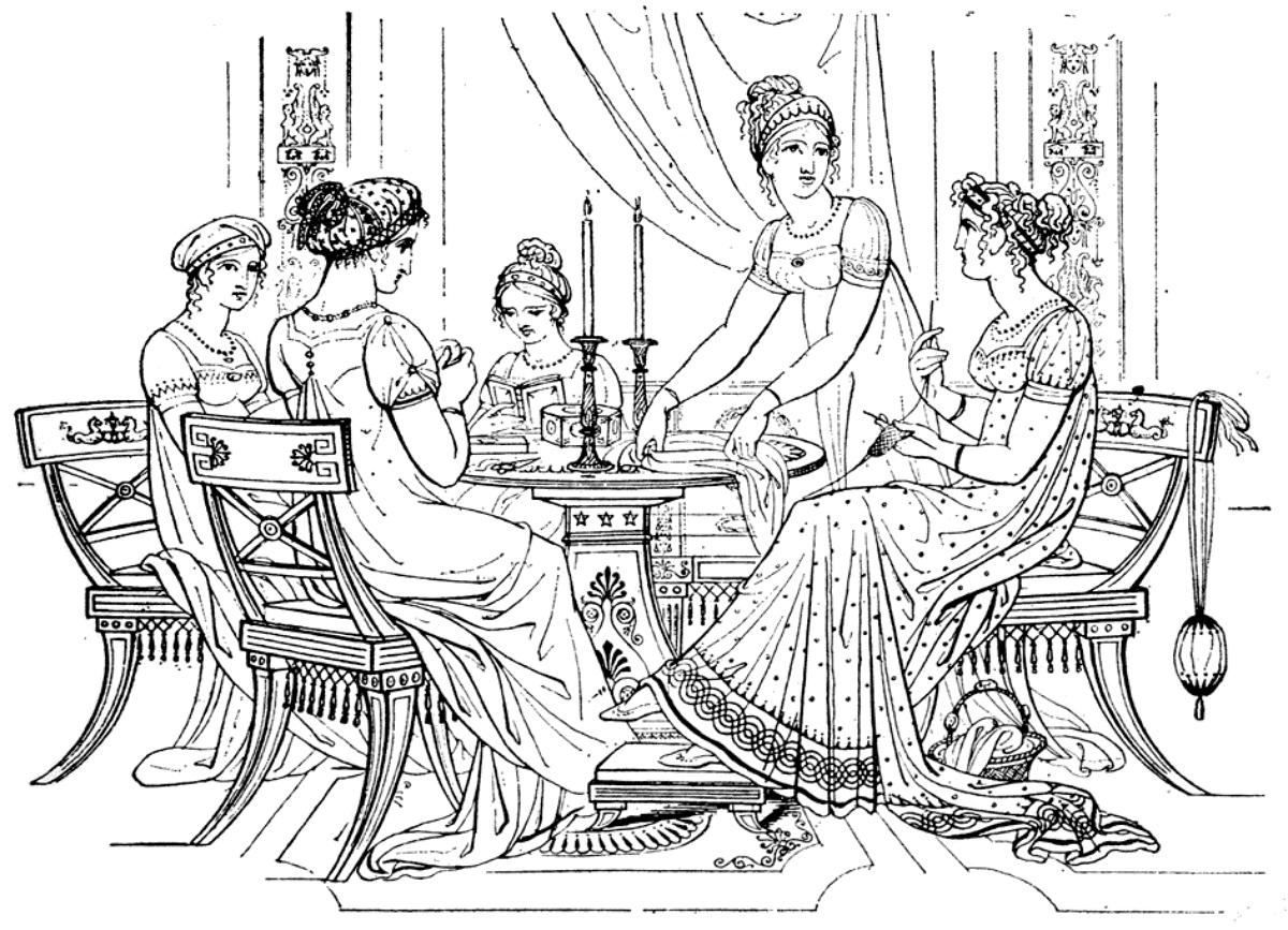 1810s ladies hairstyles