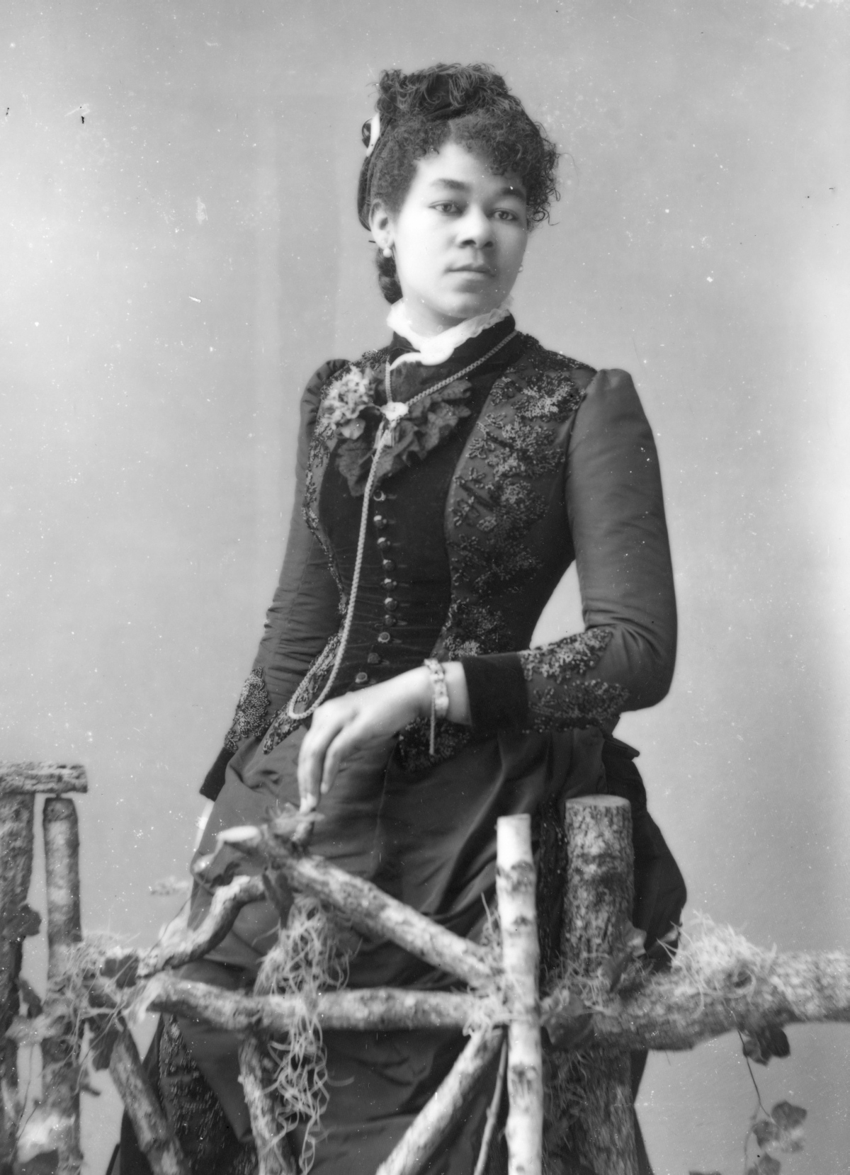 1890s hairstyle