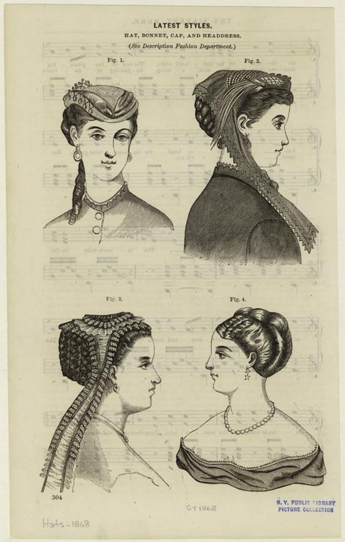 1860s hairstyles