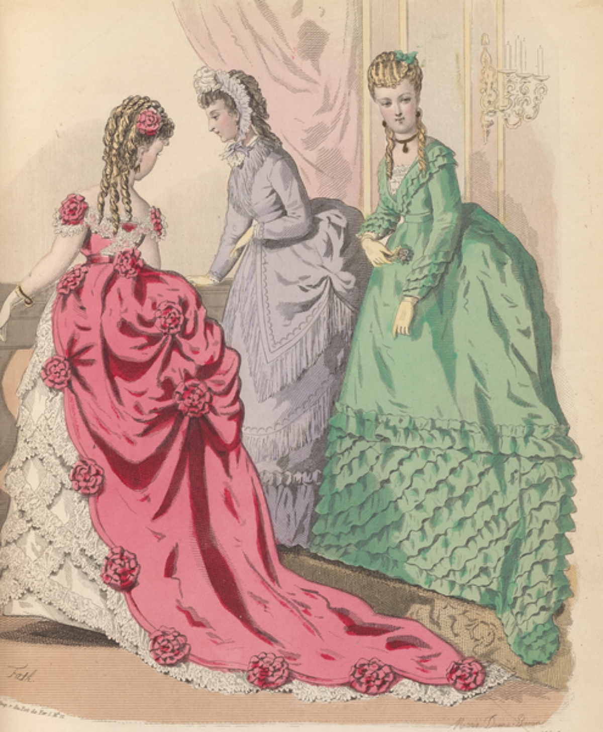 1870s hairstyles