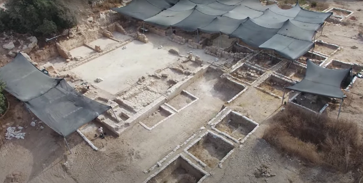 excavations at glorious martyr church