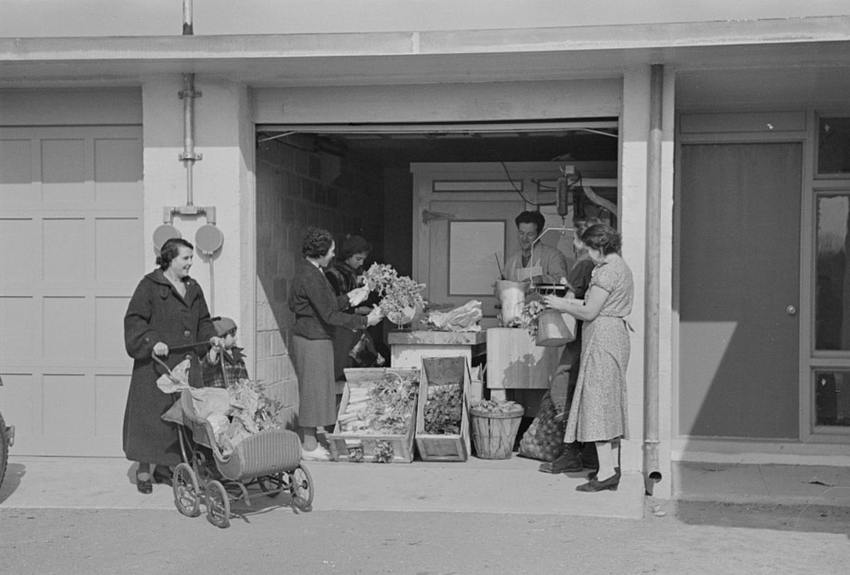 Kosher co-op in 1936, New Jersey