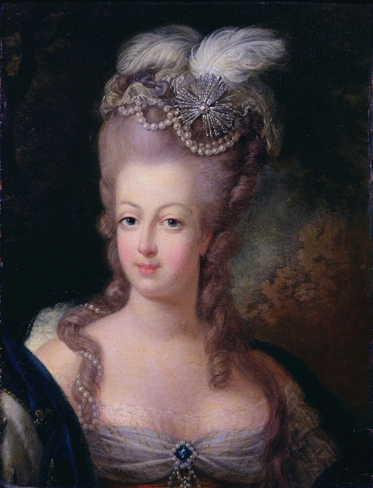 Marie Antoinette 1775 portrait