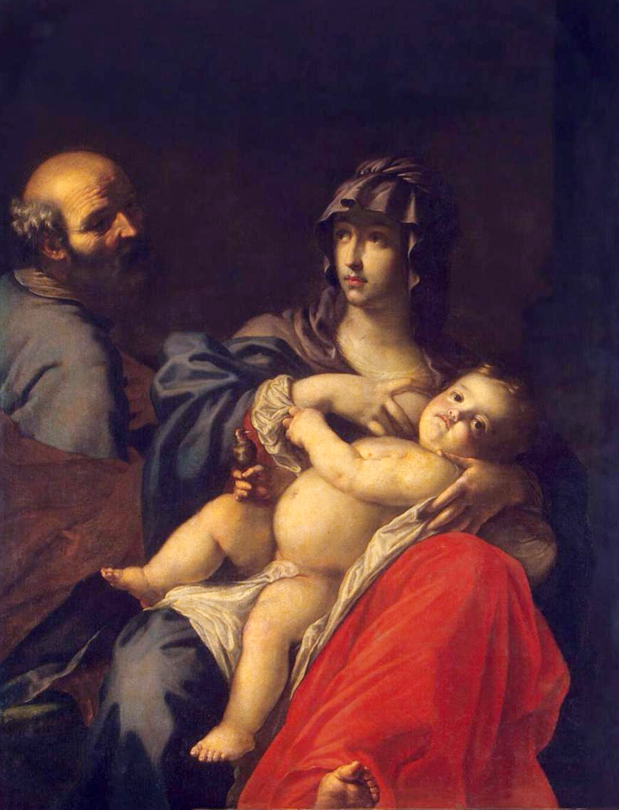 Holy Family painting by Dandini