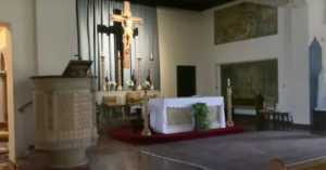 alter fo the Holy Family Church in New Rochelle New York