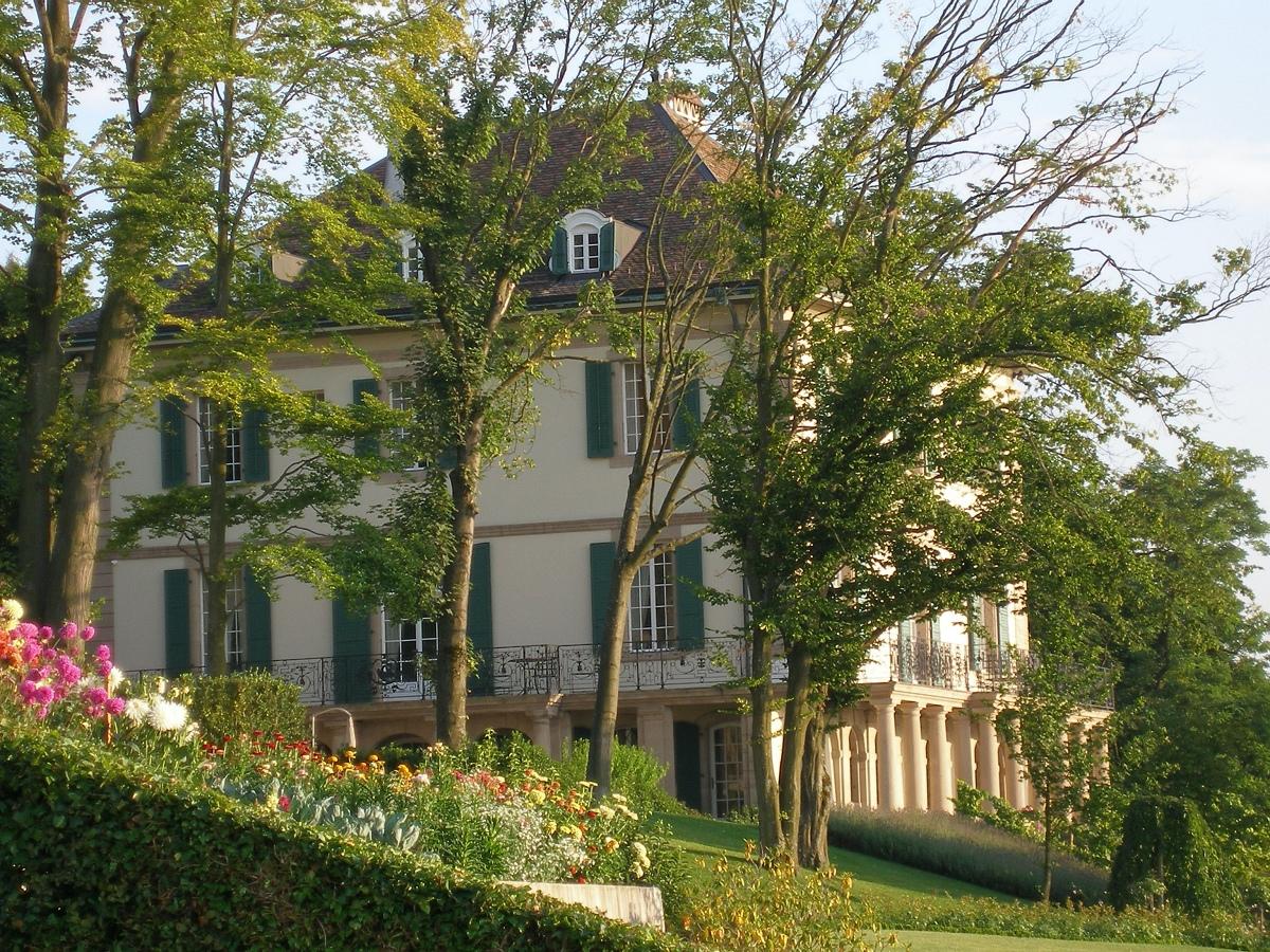 Villa Diodati on Lake Geneva