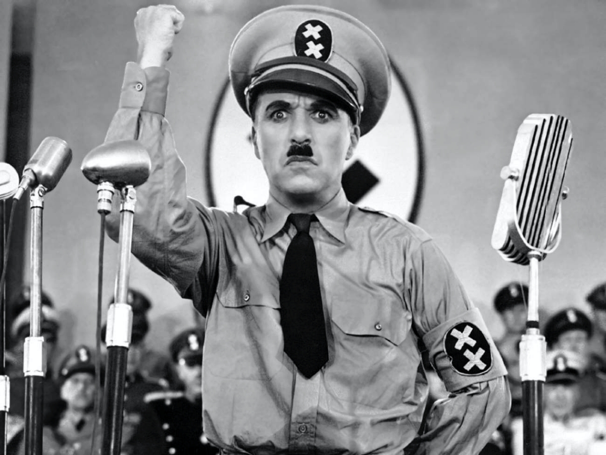 Charlie Chaplin Great Dictator