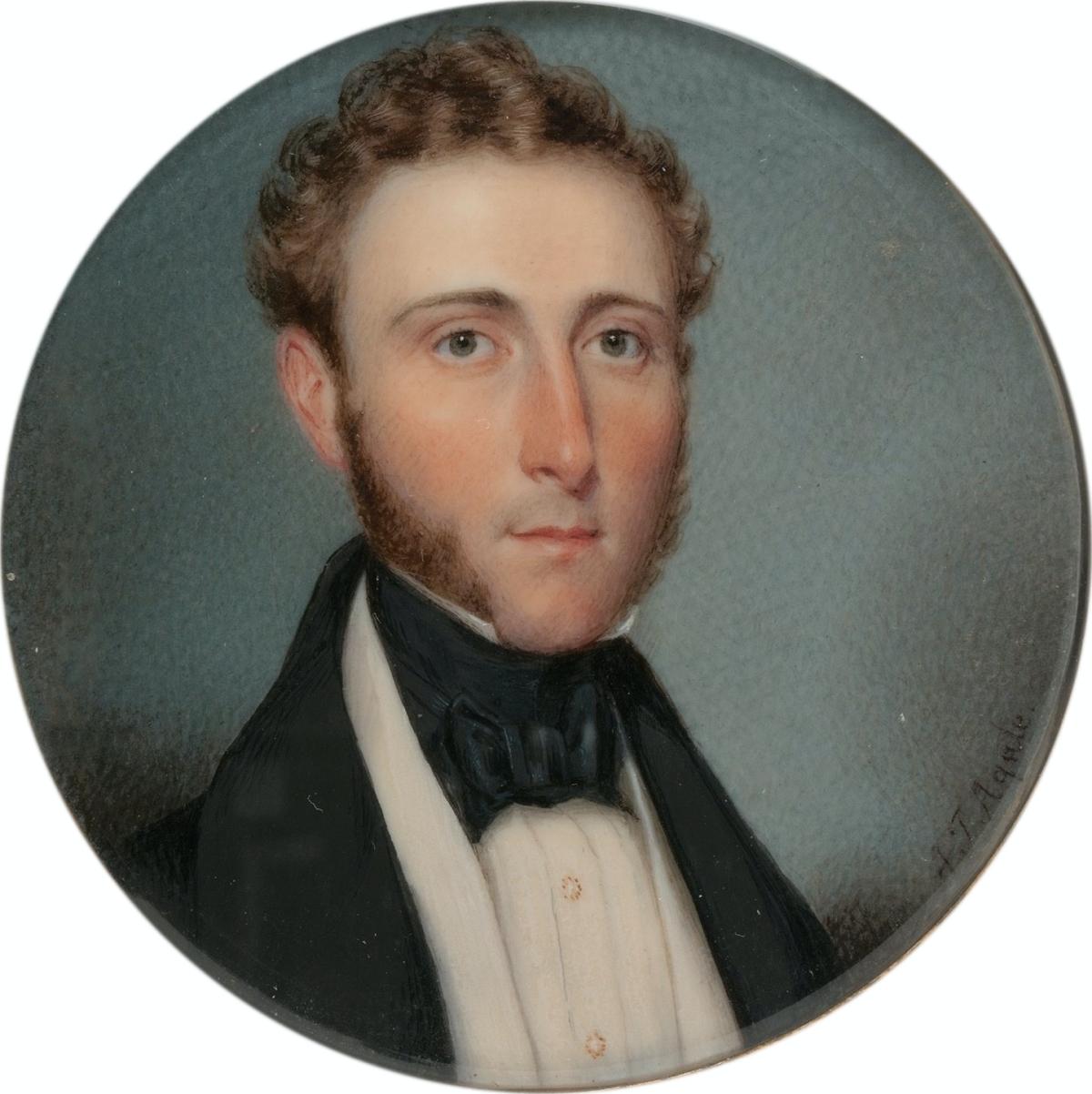 1835 miniature of a gentleman