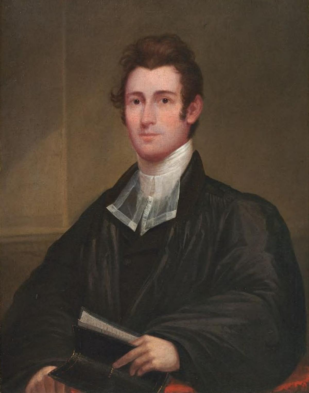 Reverend Samuel Gilman 1820s