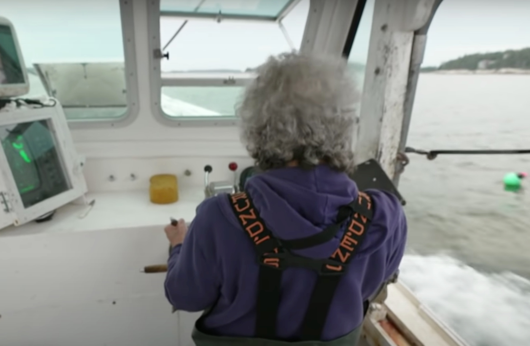 oldest lobsterman in Maine is a woman