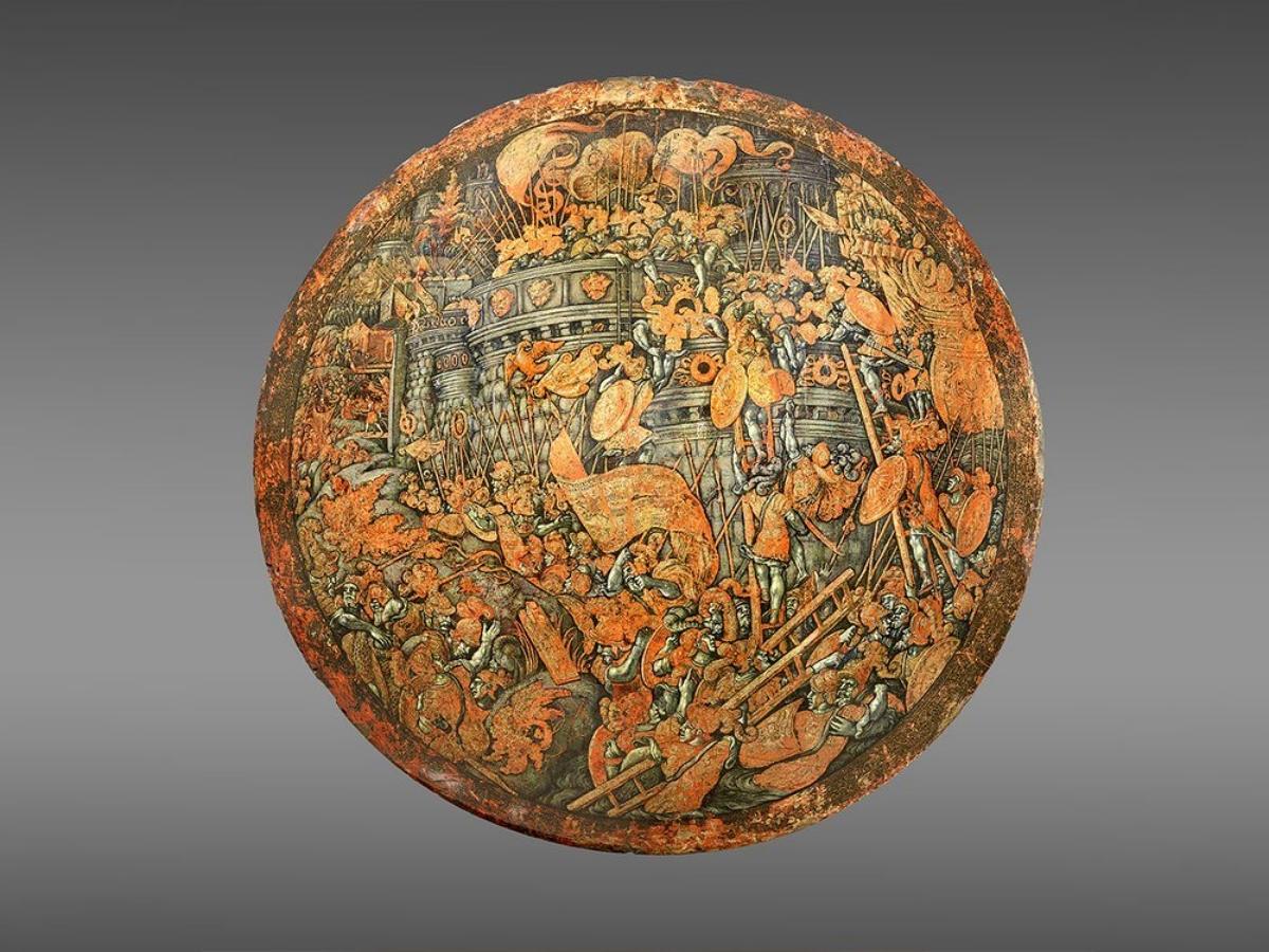 Renaissance ceremonial shield 1