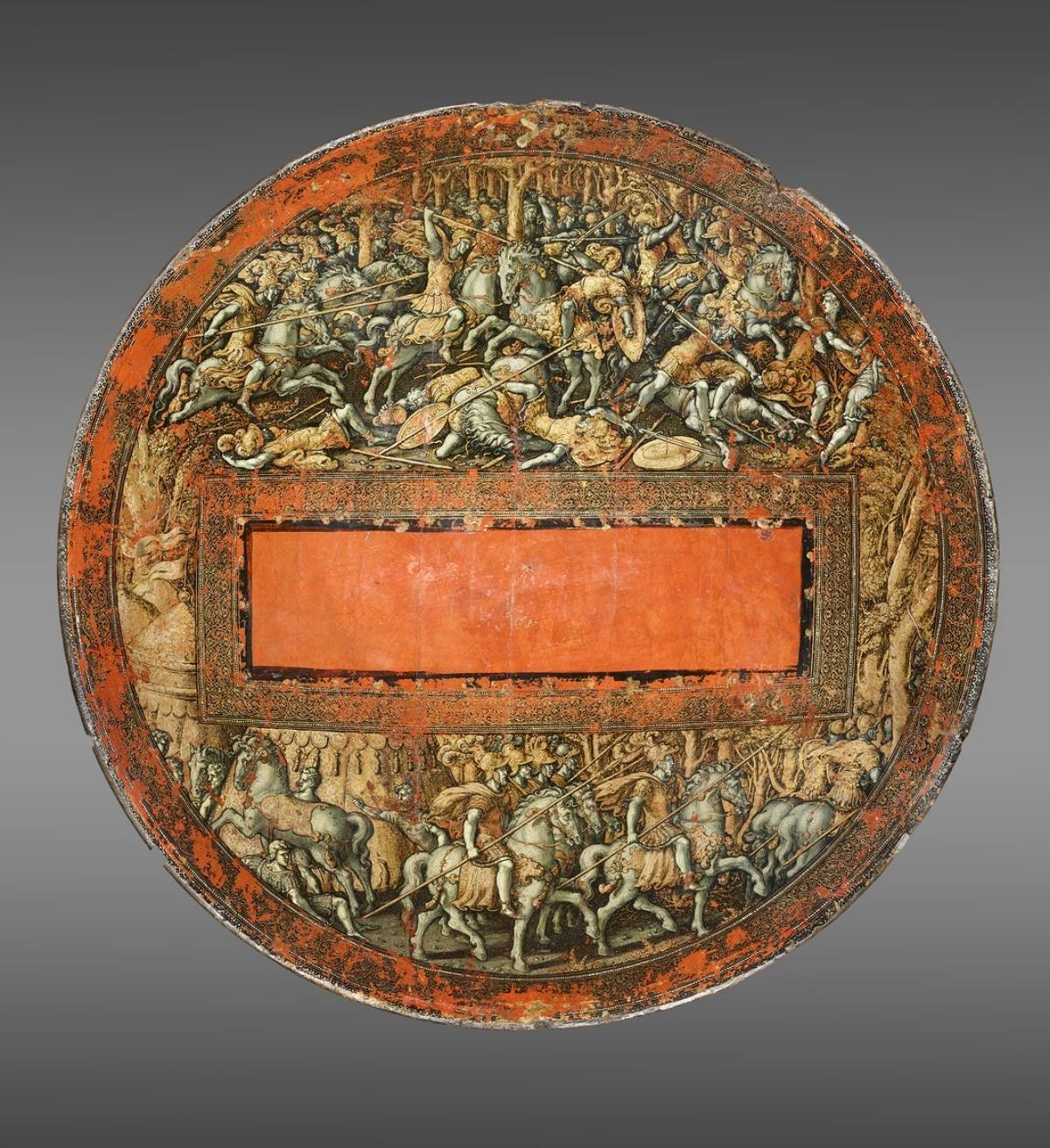 Renaissance ceremonial shield