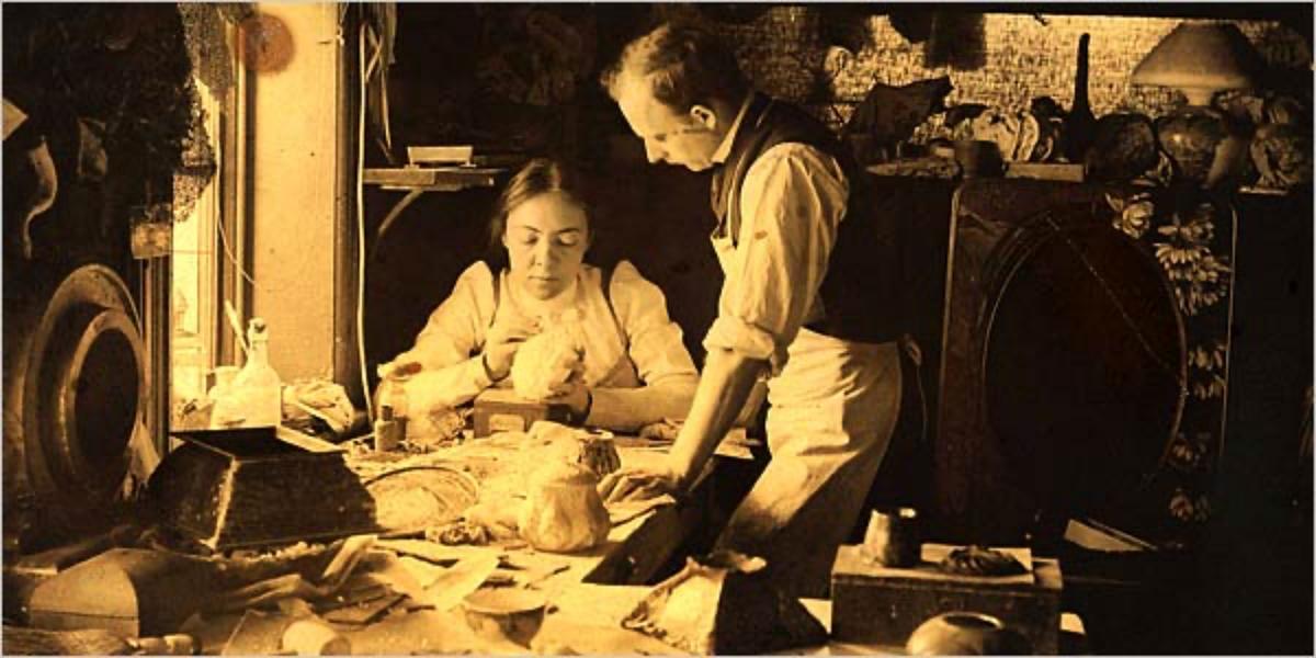 Clara Driscoll at Tiffany Studios