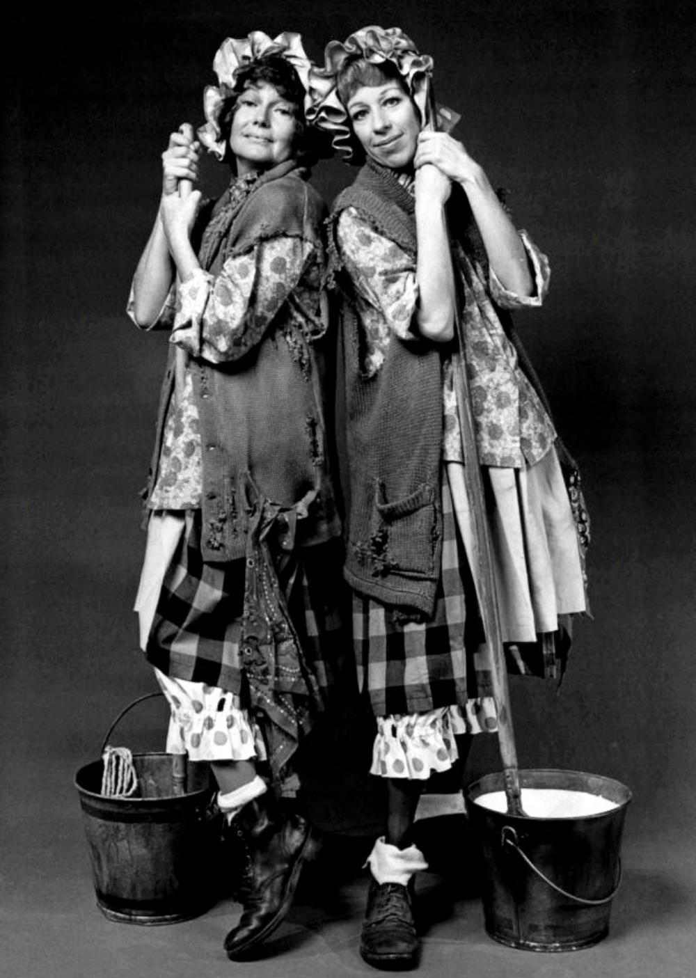 Rita Hayworth Carol Burnett 1971