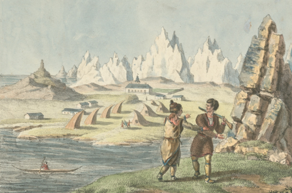 Greenland Lichtenfels painting from 1820