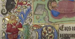 medieval illuminated manuscript