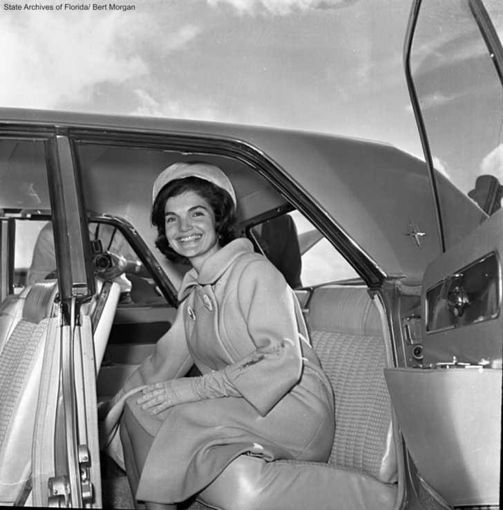 Jackie Kennedy 1961 Palm Beach
