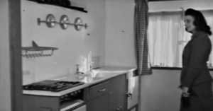 A Fascinating Look Inside a Prefab House from 1944