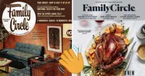 Family Circle magazines