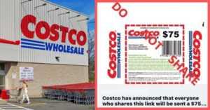 fake Costco coupon circulating online