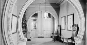 Carson Mansion interior hallway