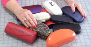 creative uses for old eyeglasses cases