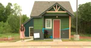 Homeless Teens Who've Aged Out Of Foster Care Moving Into Tiny Homes